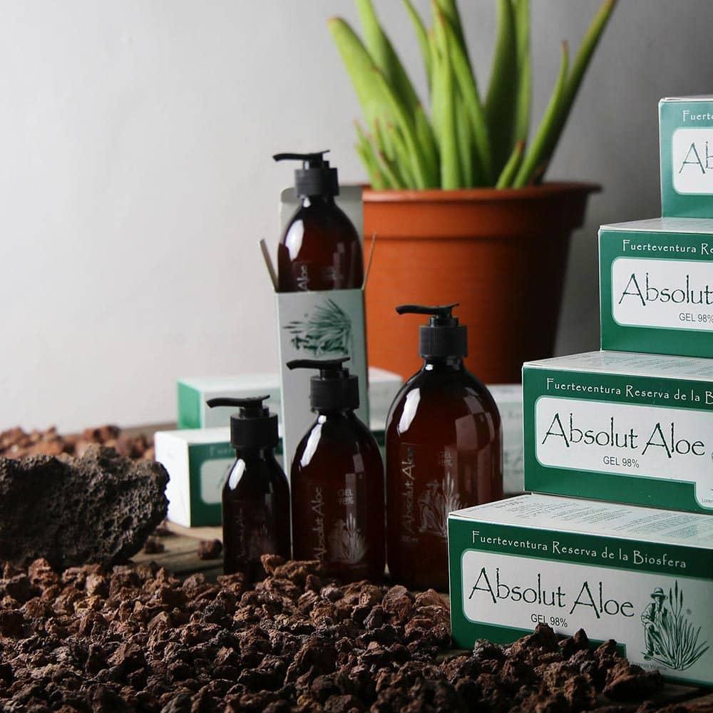 Organic Aloe Vera Gel and Juice Fuerteventura