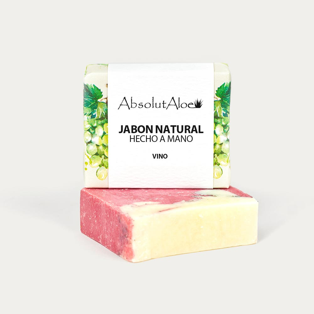 Jabón Natural - Vino - AbsolutAloe