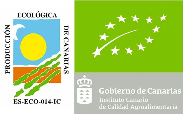 Sello Ecológico Aloe Vera Fuerteventura