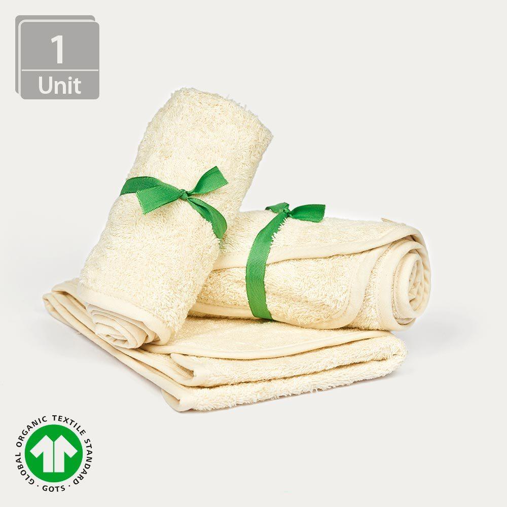Natur Handtuch aus reiner Bio-Baumwolle - AbsolutAloe