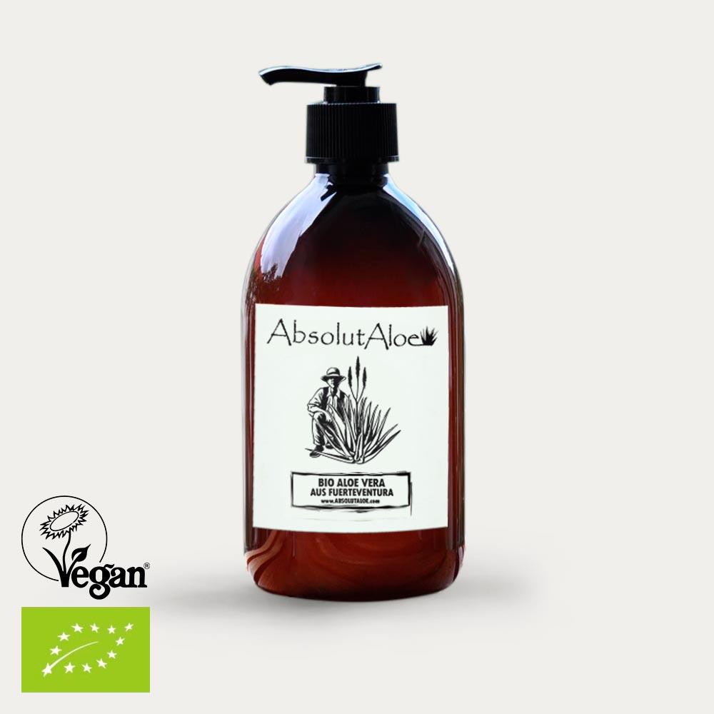 Reines Aloe Vera Gel 500ml - AbsolutAloe