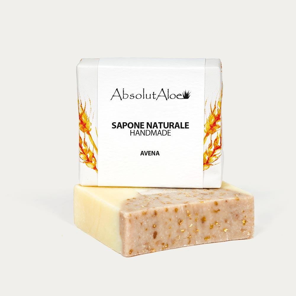 Sapone Naturale - Avena - AbsolutAloe